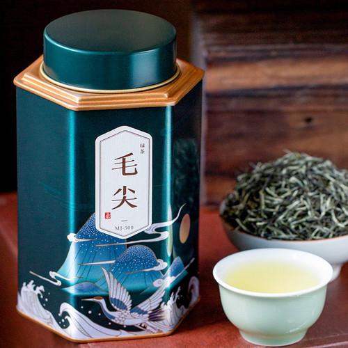 Wu Hu Brand Ming Qian Premium Grade Xin Yang Mao Jian Xinyang Downy Tip Chinese Green Tea 250g