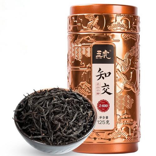 Wu Hu Brand Zhi Jiao Premium Grade Nong Xiang Lapsang Souchong Black Tea 125g