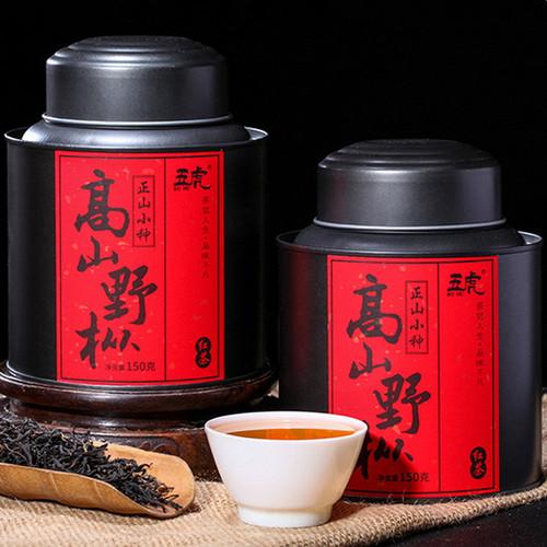 Wu Hu Brand Alpine Ye Cong Lapsang Souchong Black Tea 150g*2