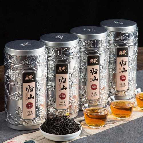 Wu Hu Brand Gui Shan Lapsang Souchong Black Tea 125g*4