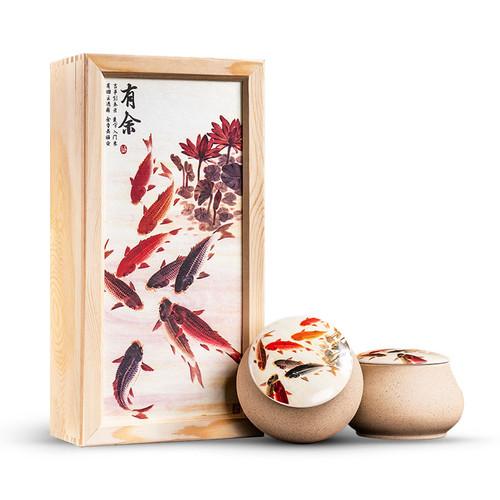 Wu Hu Brand You Yu Jin Jun Mei Golden Eyebrow Wuyi Black Tea 300g