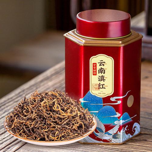 Wu Hu Brand Nong Xiang Dian Hong Yunnan Black Tea 125g