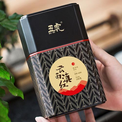 Wu Hu Brand Honey Fragrant Golden Bud Dian Hong Yunnan Black Tea 100g