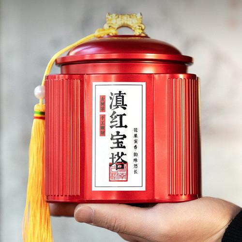 Wu Hu Brand Pagoda Dian Hong Yunnan Black Tea 250g