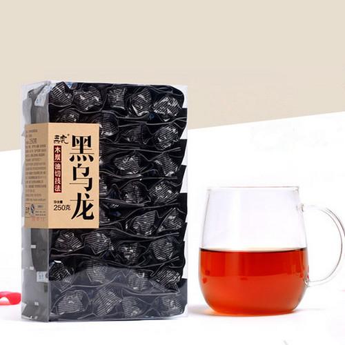 Wu Hu Brand Black Oolong Charcoal Roasted Slimming Tea Reducing Weight Fat Burning 250g