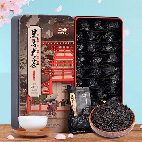 Wu Hu Brand CH-05 Black Oolong Charcoal Roasted Slimming Tea Reducing Weight Fat Burning 250g