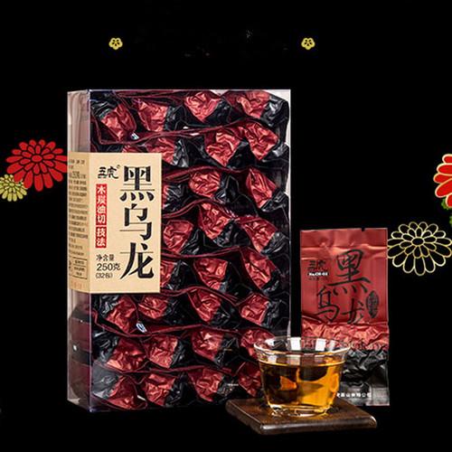 Wu Hu Brand Jing Pin Black Oolong Charcoal Roasted Slimming Tea Reducing Weight Fat Burning 250g