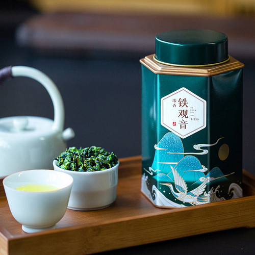 Wu Hu Brand T-330 Nong Xiang Tie Guan Yin Chinese Oolong Tea 150g
