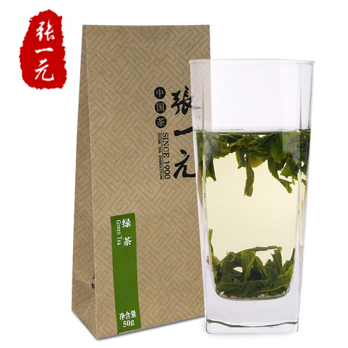 ZHANG YI YUAN Brand Spring Crop Liu An Gua Pian Melon Slice Tea 50g