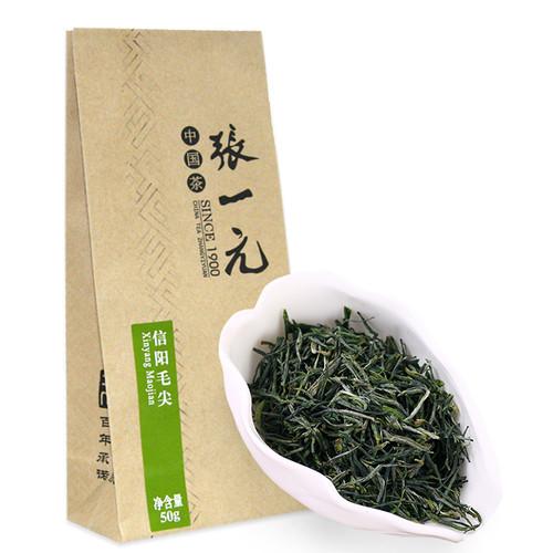 ZHANG YI YUAN Brand Yu Qian Xin Yang Mao Jian Xinyang Downy Tip Chinese Green Tea 50g