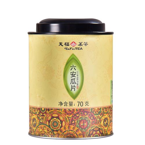 TenFu's TEA Brand Liu An Gua Pian Melon Slice Tea 70g