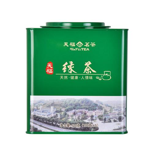 TenFu's TEA Brand E Mei Green Tea 500g