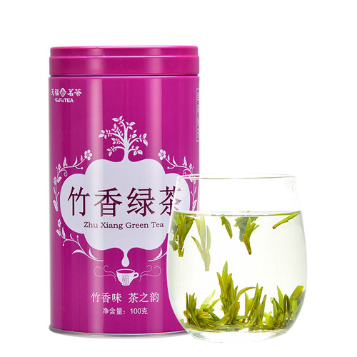 TenFu's TEA Brand Bamboo Incense E Mei Green Tea 100g