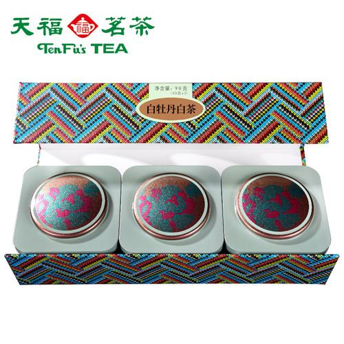 TenFu's TEA Brand Premium Grade White Peony Fuding White Tea Loose 90g