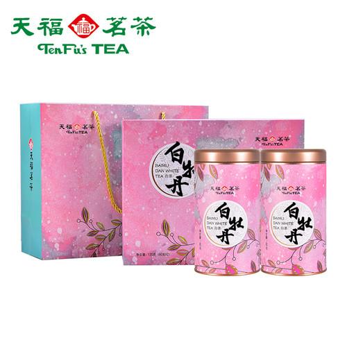 TenFu's TEA Brand Lv Yi White Peony Fuding White Tea Loose 120g
