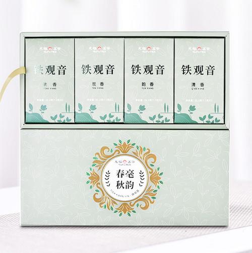 TenFu's TEA Brand Chun Hao Qiu Yun Tie Guan Yin Chinese Oolong Tea 90g