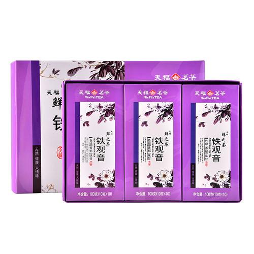 TenFu's TEA Brand Xian Zhi Cha Qing Xiang Tie Guan Yin Chinese Oolong Tea 300g