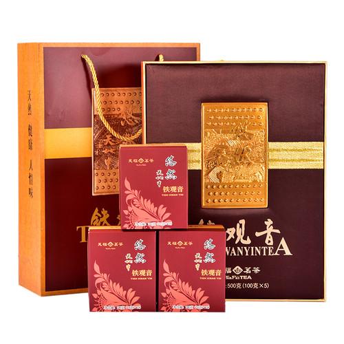 TenFu's TEA Brand You Ran Qing Xiang Tie Guan Yin Chinese Oolong Tea 500g