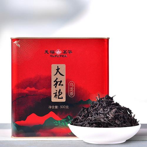 TenFu's TEA Brand Da Hong Pao Fujian Wuyi Big Red Robe Oolng Tea 500g