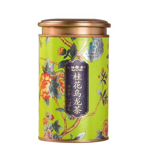 TenFu's TEA Brand Gui Hua Oolong Osmanthus Oolng Tea 120g