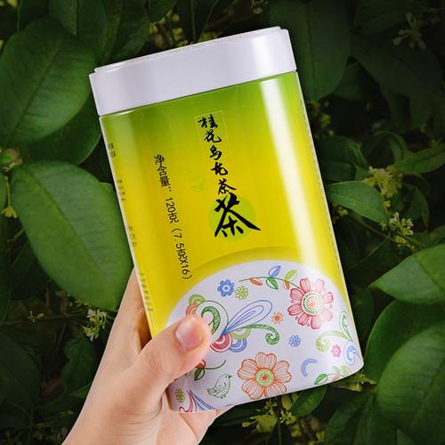 TenFu's TEA Brand Featured Series Gui Hua Oolong Osmanthus Oolng Tea 120g