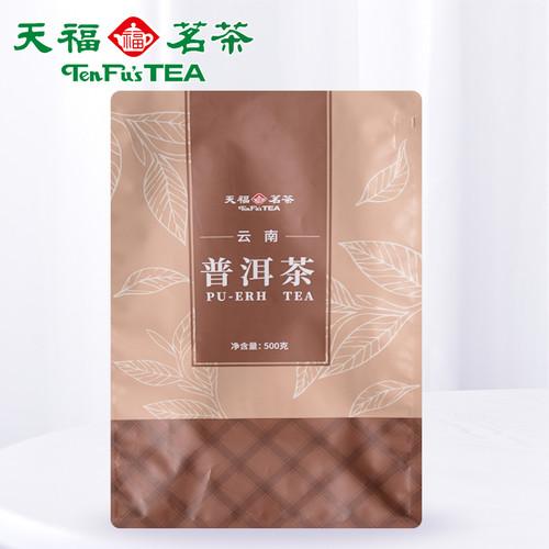 TenFu's TEA Brand Pu-erh Tea Loose 2020 500g Ripe