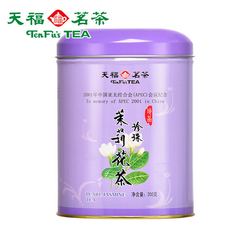 TenFu's TEA Brand Pearl Jasmine Green Tea 200g