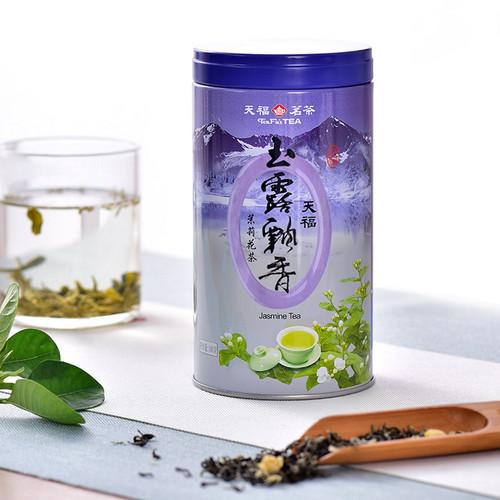 TenFu's TEA Brand Nong Xiang Yu Lu Piao Xiang Jasmine Green Tea 100g