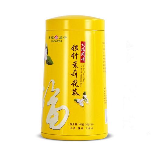 TenFu's TEA Brand Yong Qing Yin Zhen Mo Li Jasmine Green Tea 100g