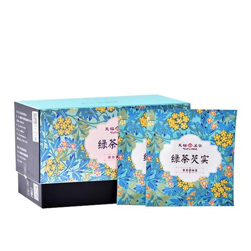 TenFu's TEA Brand Green Tea Gorgon Eight Treasures Ba Bao Cha Asssorted Herbs & Fruits Chinese Bowl Tea Tea Bag 36g
