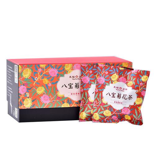 TenFu's TEA Brand Chrysanthemum Ba Bao Cha Eight Treasures Asssorted Herbs & Fruits Chinese Bowl Tea Tea Bag 150g