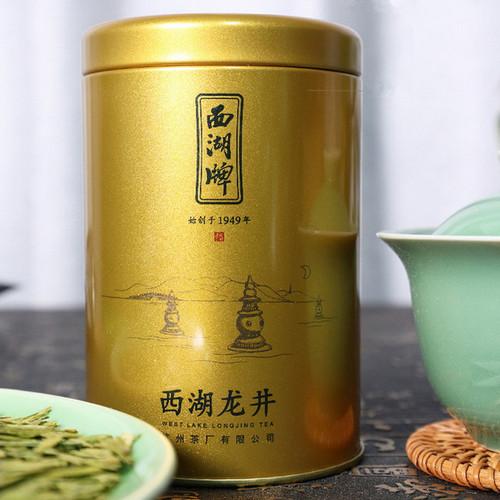 XI HU Brand Old Tea Tree Ming Qian Premium Grade Xi Hu Long Jing Dragon Well Green Tea 50g