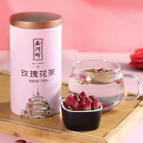 XI HU Brand Red Rosebud Tea Rose Tea 80g