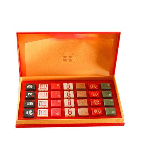 KUNGFU PU'ER Brand Xiao Yao Dan 7 Flavors Assortment Tea Pearls 196g