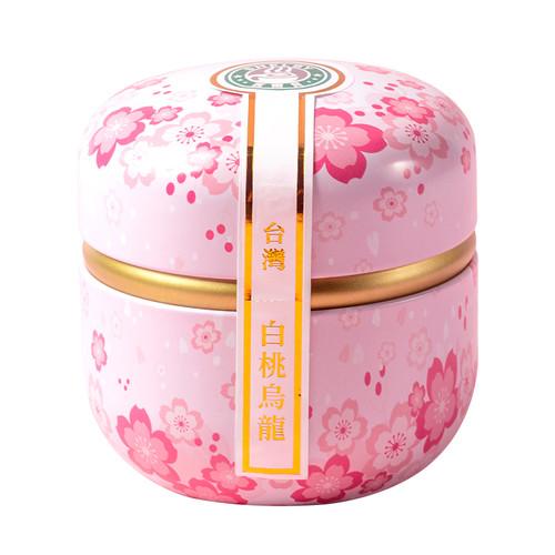 TAIWAN TEA Brand Xi Er Bei White Peach Oolong Fresh Oolong Tea With Real Dried Peach Chunks Tea Bag 30g