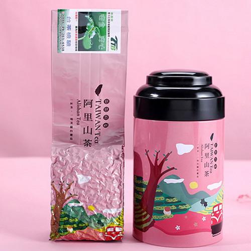 TAIWAN TEA Brand Cha Xian Ju Qingxiang AliShan Taiwan High Mountain Gao Shan Oolong Tea 100g