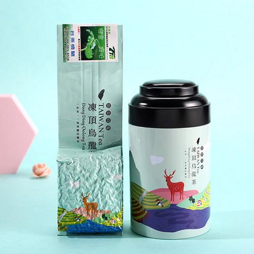 TAIWAN TEA Brand Cha Xian Ju Taiwan Dong Ding Oolong Tea 100g