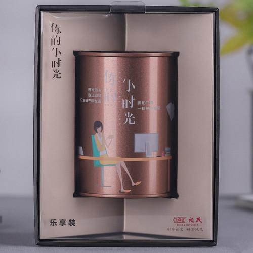 MENGKU Brand Xiao Shi Guang Pu-erh Tea Tea Bag 2020 40g Ripe