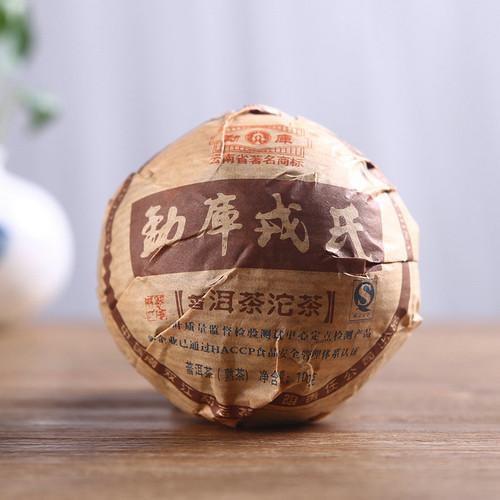 MENGKU Brand Xiao Shu Tuo Pu-erh Tea Tuo 2007 100g Ripe