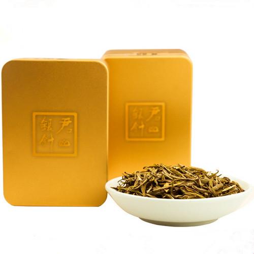 JUNSHAN Brand Ming Qian Ya Tou Jun Shan Yin Zhen China Yellow Tea 24g