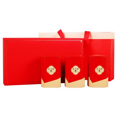 H. GENERAL Brand Qun Fang Zui Ming Qian Premium Grade Huang Shan Mao Feng Yellow Mountain Green Tea 300g