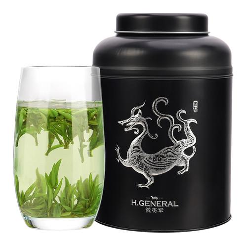 H. GENERAL Brand Ming Qian Premium Grade First Plucked Huang Shan Mao Feng Yellow Mountain Green Tea 250g