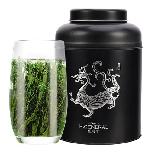 H. GENERAL Brand Potpourri Yu Qian Premium Grade Tai Ping Hou Kui Monkey King Green Tea 250g