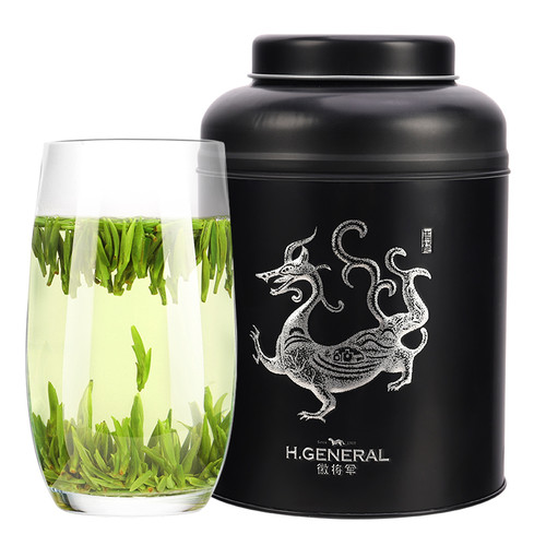 H. GENERAL Brand Ming Qian Premium Grade First Plucked Que She Sparrow's Tongue Chinese Green Tea 250g