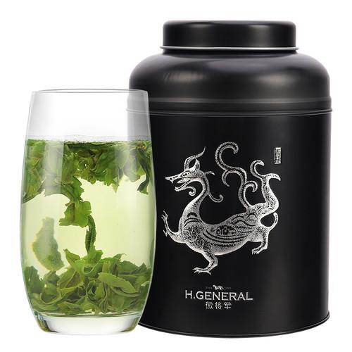 H. GENERAL Brand Ming Hou Te 2nd Grade Liu An Gua Pian Melon Slice Tea 250g
