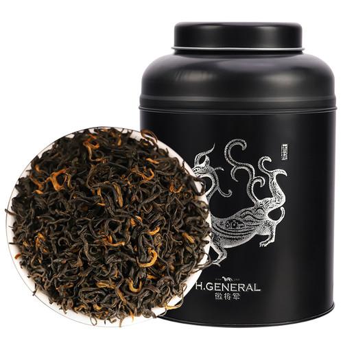 H. GENERAL Brand Nong Xiang Qi Hong Xiang Luo Qi Men Hong Cha Chinese Gongfu Keemun Black Tea 250g