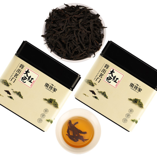 H. GENERAL Brand Da Hong Pao Fujian Wuyi Big Red Robe Oolong Tea 125g*2