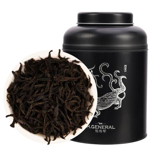 H. GENERAL Brand Premium Grade Da Hong Pao Fujian Wuyi Big Red Robe Oolong Tea 250g