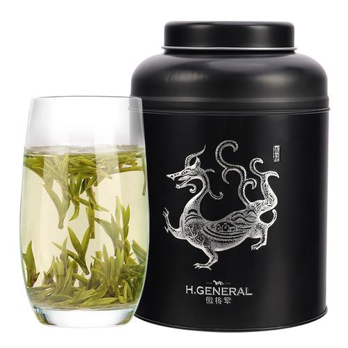 H. GENERAL Brand Ming Qian First Plucked Nen Ya Huo Shan Huang Ya Yellow Buds 250g