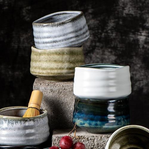 Japanese Matcha Bowl Ceramic Chawan For Tea Ceremony Mino Ware 630ml
